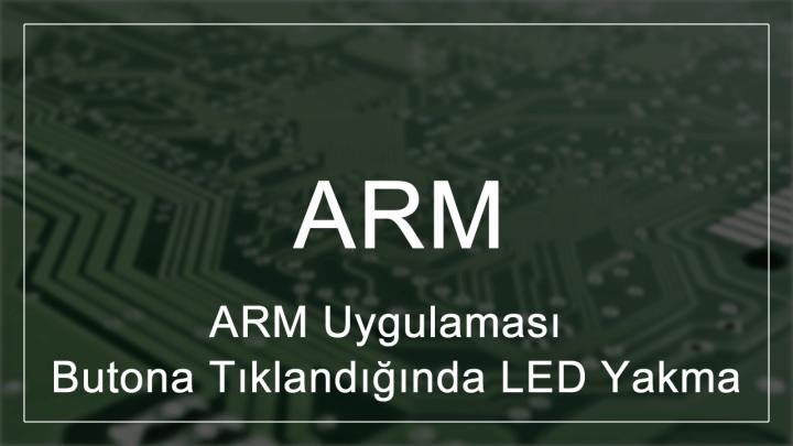 STM32F407 Butona Tıklandığında LED Yakma