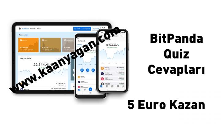 BitPanda Quiz Cevapları