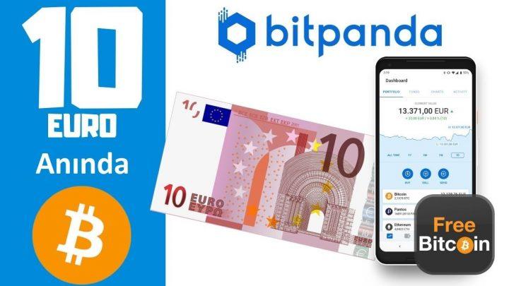 BitPanda Bedava 10 Euro Dağıtıyor!